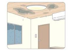 屋根の症状をそのままにしておくと、更に悪化し、雨漏れの原因になります。